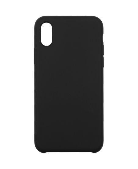 Чехол для iPhone InterStep для iPhone X SOFT-T METAL ADV черный